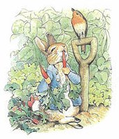 Peter Rabbit Stamp
